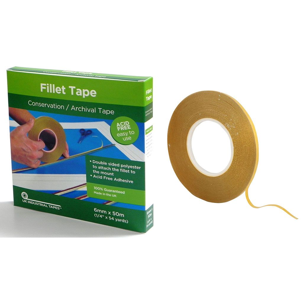 Fillet Tape Double Sided 6mm X 50m