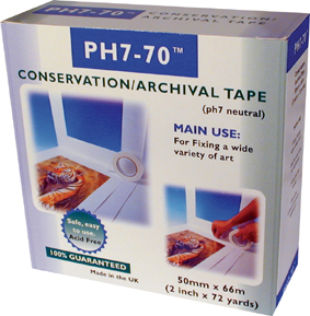 Cheap PH7-70 conservation tape unboxed
