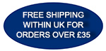 Free Shipping on Orders over £35