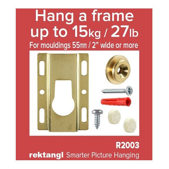 Bezel System Hanging Pack (Bridge Plate) - 15kg