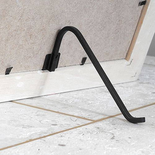 Large Picture Stand - black with bracket