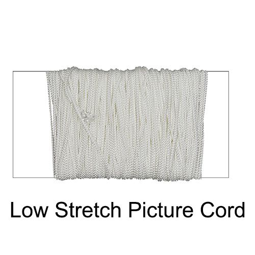 Low Stretch Picture Hanging Cord No 1 - 50m Roll