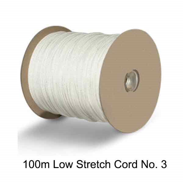 Low Stretch Picture Hanging Cord No 3 - 100m Spool