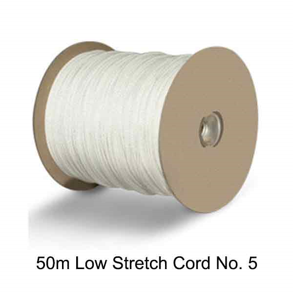 Low Stretch Picture Hanging Cord No 5 - 50m Spool