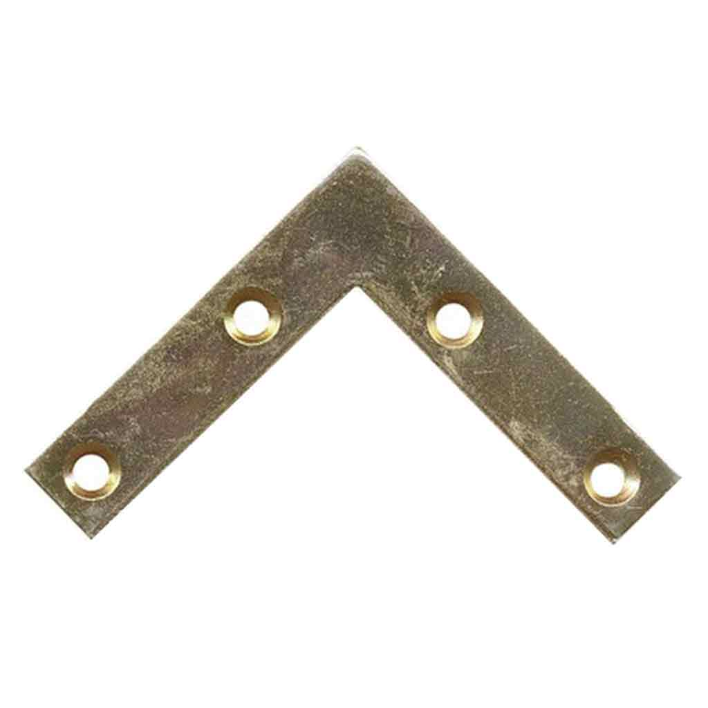 Picture Frame Reinforcement Corners Zinc Plated (large)