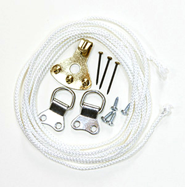 Picture Hanging Kit 7 (Nickel Plated)