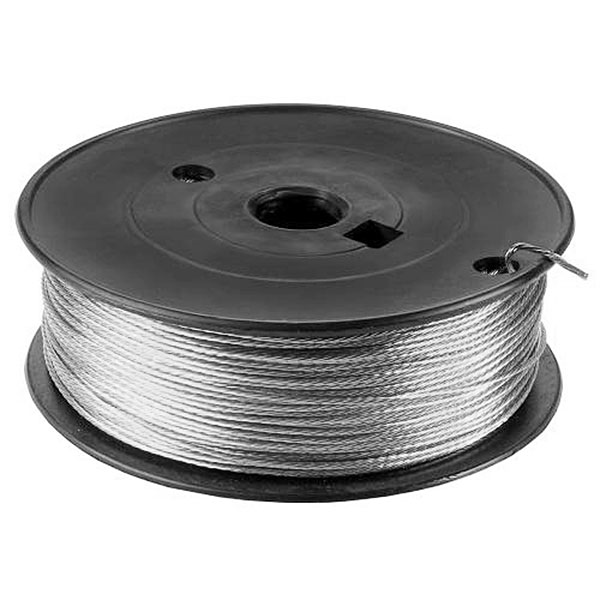 Stainless Steel Picture Hanging Wire (#5/19kg) - 168m Roll