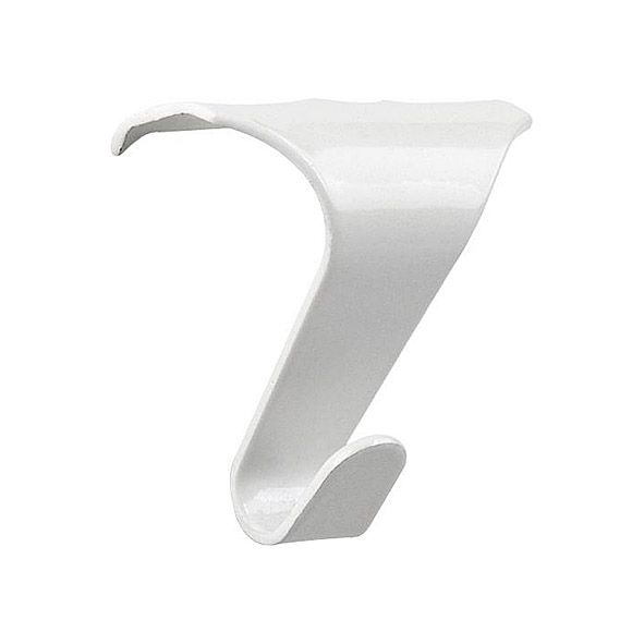 Sturdy Picture Rail Hook White - Medium