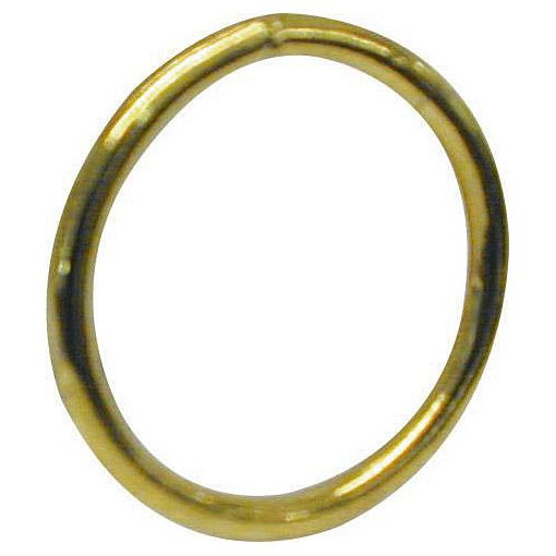 Brass Plated  Welded Steel Ring