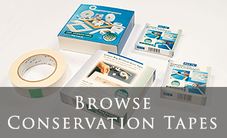 Conservation Mounting & Hinging Tapes