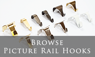 Picture Rail Hooks & Accessories