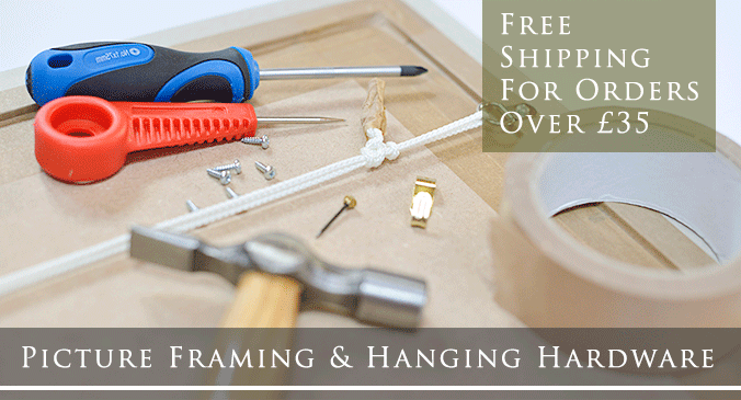 Picture Framing Hardware & Tools